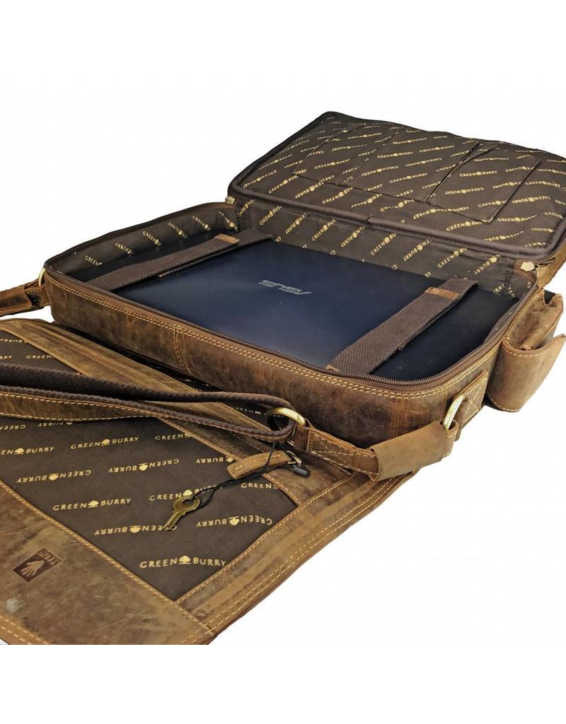 Greenburry Complete Leren Werktas Laptoptas