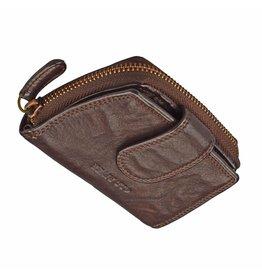 Kleine Damen Geldbörse Washed Leather