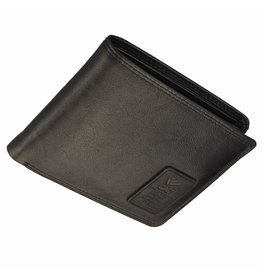 4218de454ce GAZ Platte Heren Portemonnee Zwart Laag Formaat RFID