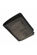 GAZ Kleine Heren Portemonnee Veel Pasjes Zwart RFID
