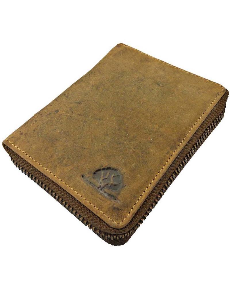 4008f85d5f99d ... Greenburry Luxus Leder Damen Herren Portemonnaie Umlaufender  Reißverschluss Zip Around Wallet ...