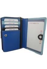 Burkely Reißverschluss Geldbörse Multicolor Blau