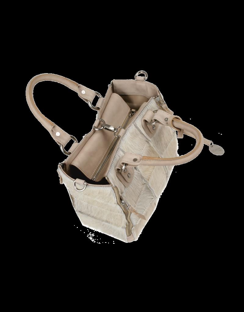 Bull & Hunt Leder Handtasche Umhängetasche Sherpa Sand