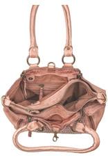 Bull & Hunt Geflochtenes Leder Handtasche Umhängetasche Blossom