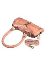 Bull & Hunt Kleine Geflochtenes Leder Handtasche Umhängetasche Blossom