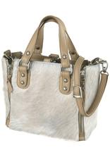 Bull & Hunt Kleine Leder Handtasche Haut Sand