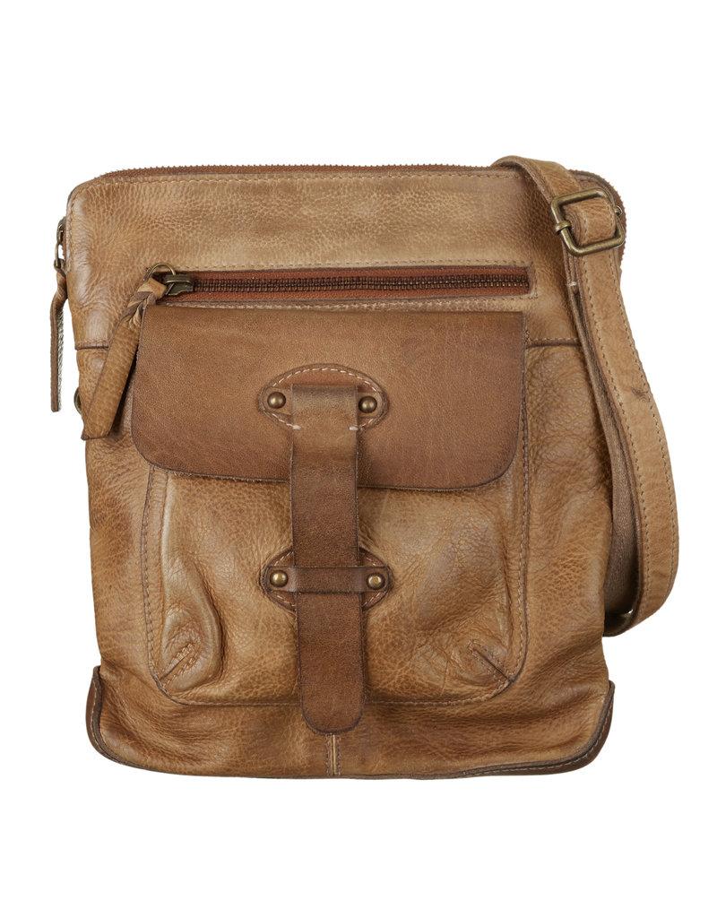 Bull & Hunt Kleine Leder Handtasche Haut Sand - Copy