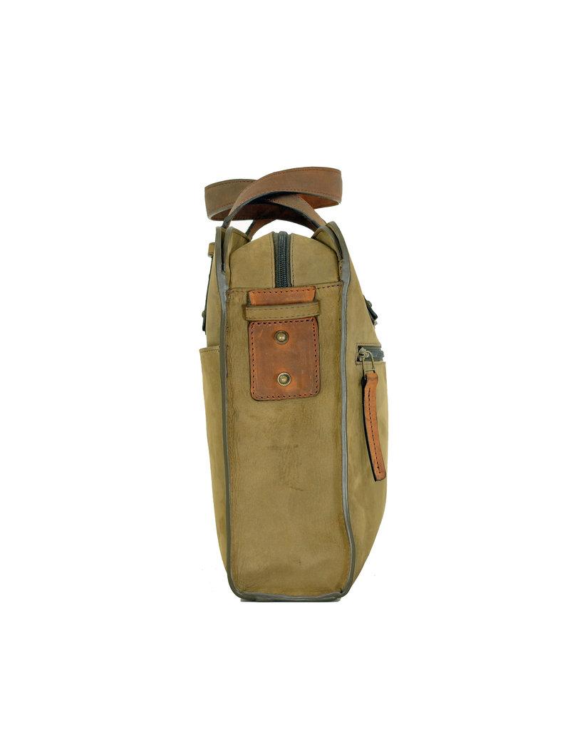Ruitertassen Handverarbeitete Leder Arbeitstasche Laptoptasche