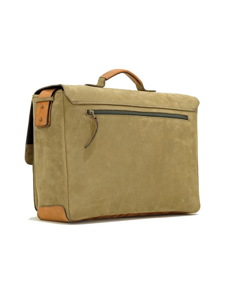 Ruitertassen Handverarbeitete Leder Arbeitstasche Überschlagtasche