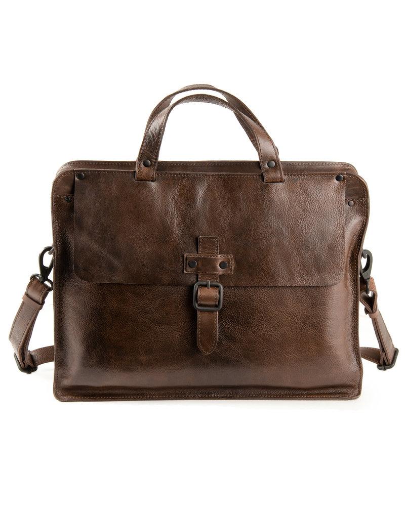 Harold's Retro Klassiek Leren Werktas Businessbag