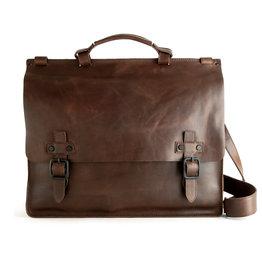 Harold's Retro Klassische Leder Aktentasche Businessbag