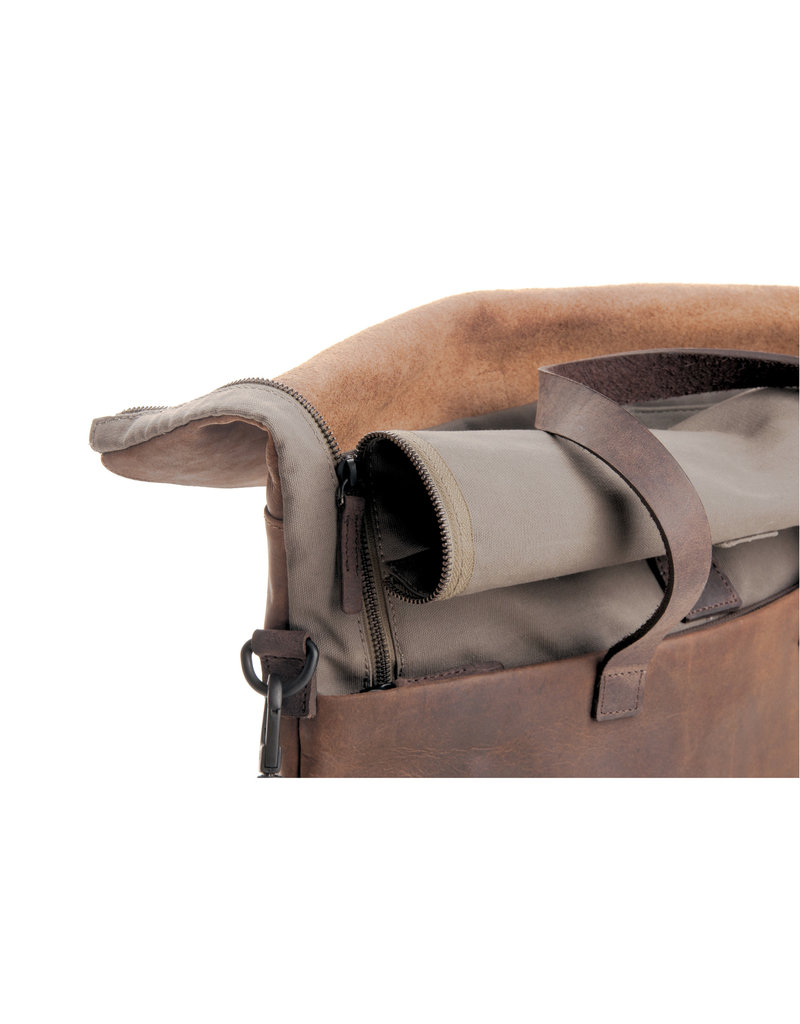 Harold's Leder Rucksack Rolltop Hoch L