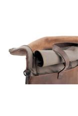 Harold's Leder Rucksack Rolltop Reisetasche Arbeitstasche