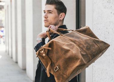Herren Taschen Vintage