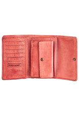 Bull & Hunt Weiches Damen Geldbörse Vintage Rot