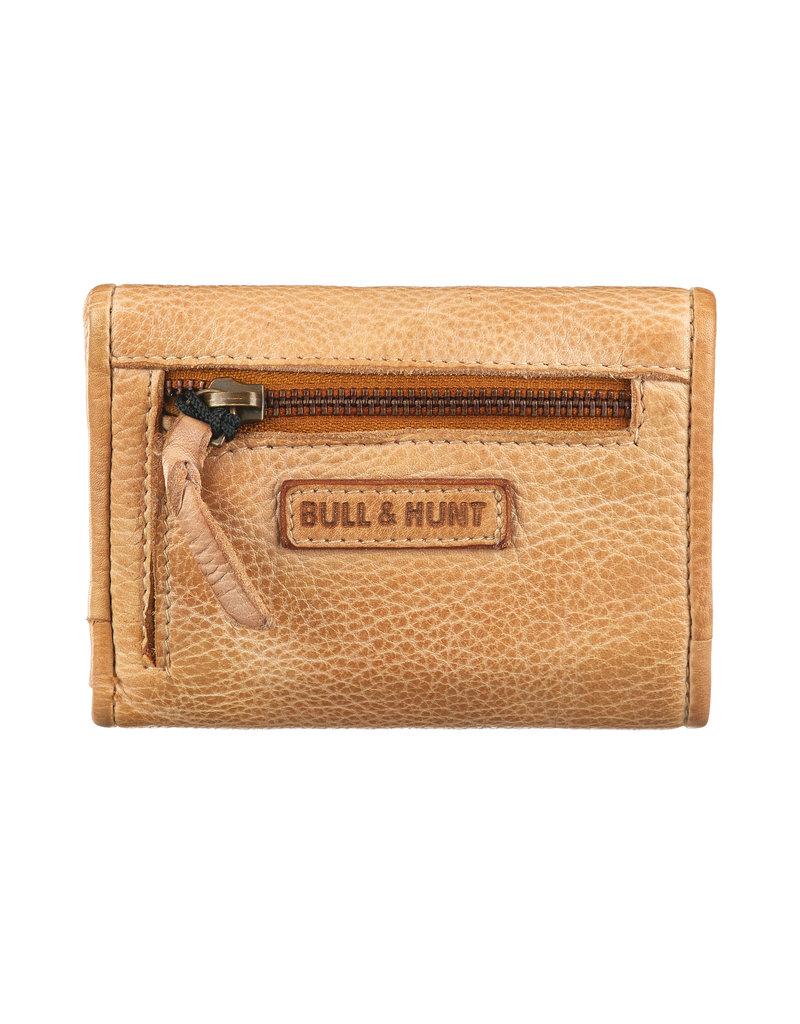 Bull & Hunt Kleines Weiches Damen Geldbörse Vintage Gelb