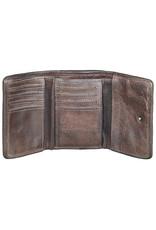 Bull & Hunt Kleines Weiches Damen Geldbörse Vintage Braun