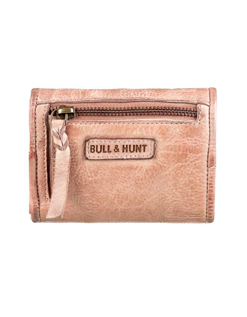 Bull & Hunt Kleines Weiches Damen Geldbörse Vintage Sand