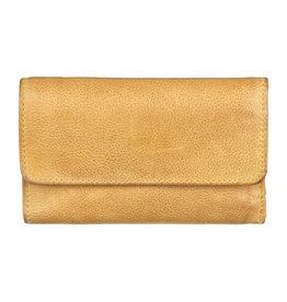 Bull & Hunt Weiches Damen Geldbörse Vintage Gelb