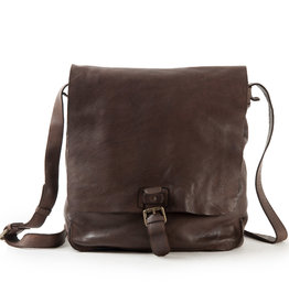 Harold's Washed Leder A4  Schultertasche  Postmanbag