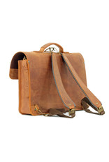 Ruitertassen Leder Handverarbeitete Umhängetasche Rucksack 1 Fach
