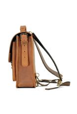 Ruitertassen Kleines Leder Handverarbeitete Umhängetasche Rucksack 1 Fach