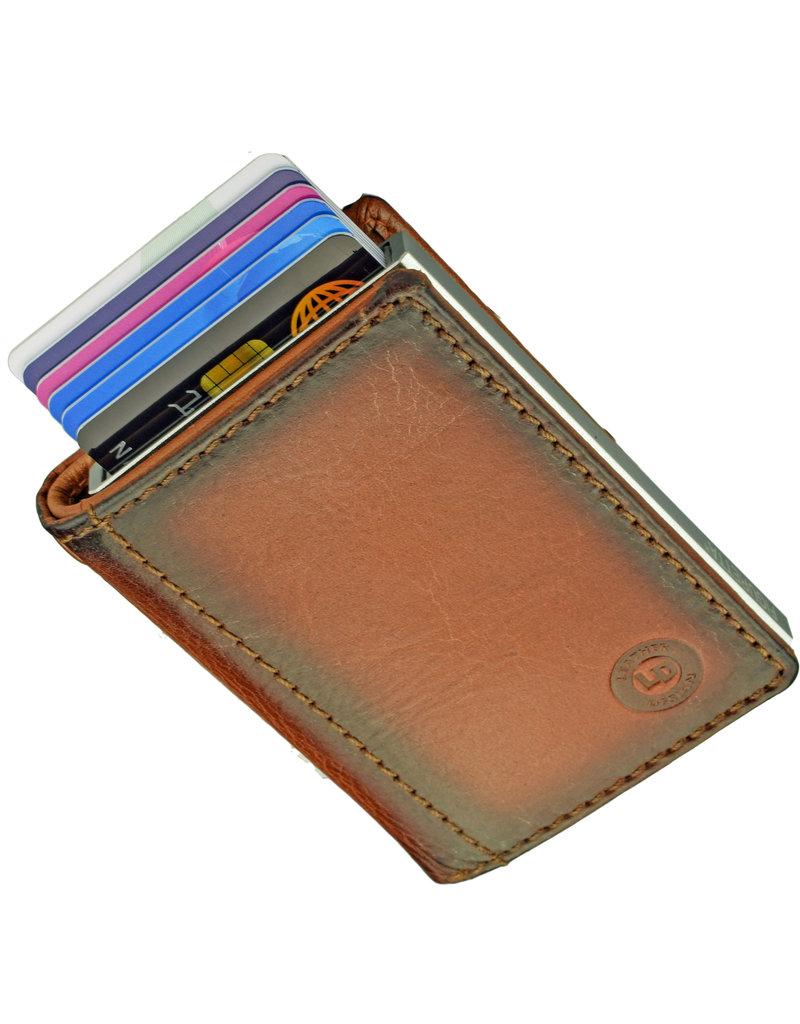 Lederwaren Daniëlle Cardprotector Geldbörse mit Secrid oder Figuretta Cardprotector Burnt