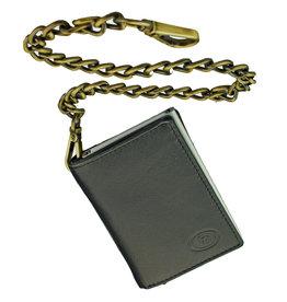 Lederwaren Daniëlle Kette Geldbörse mit Secrid oder Figuretta Cardprotector Schwarz