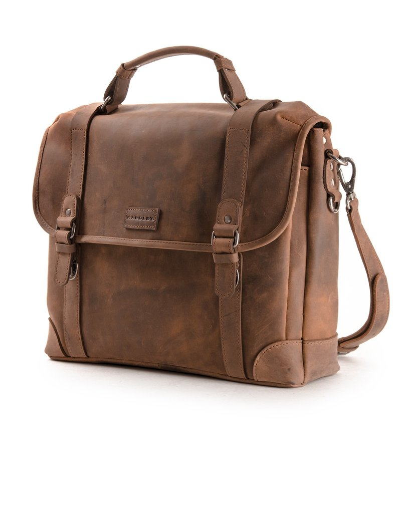 Harold's Leder Überschlagtasche Umhängetasche  Large
