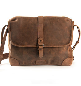 Harold's Leder Überschlagtasche Umhängetasche Small