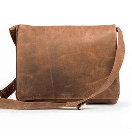 Harold's Leder Überschlagtasche Messenger Bag Medium