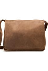 Harold's Leder Überschlagtasche Messenger Bag Large