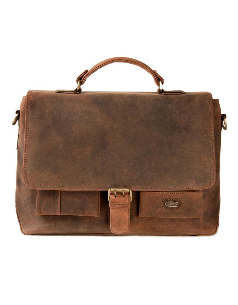 Harold's Leder Arbeitstasche Briefcase Medium