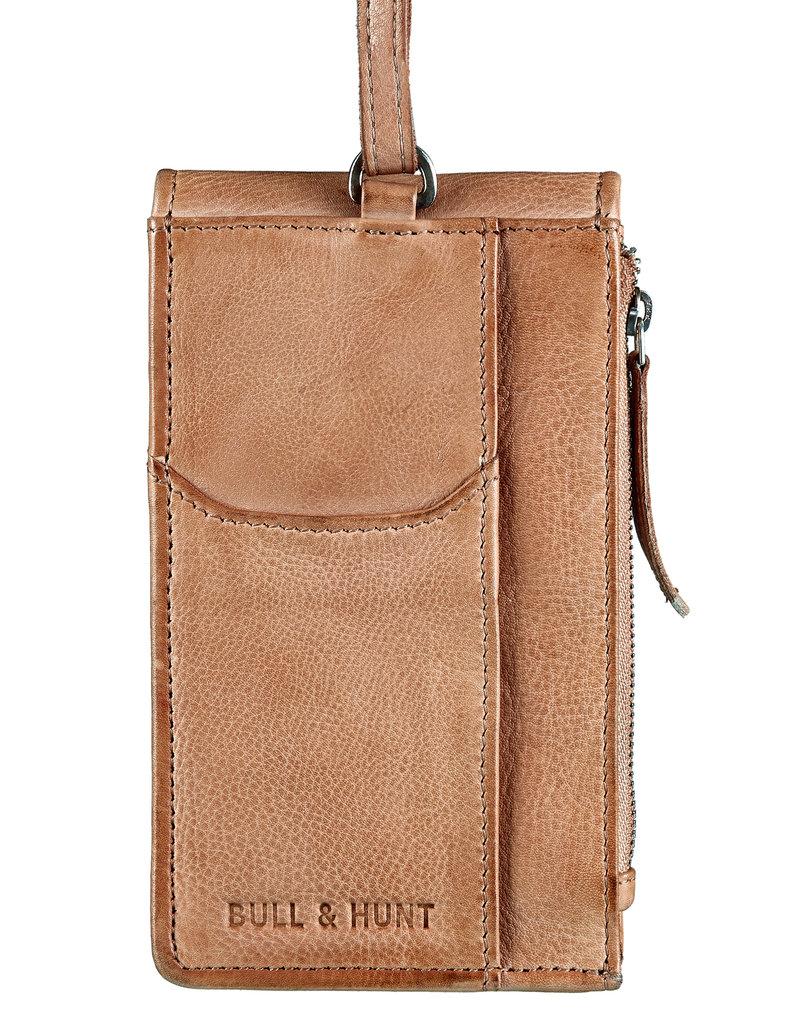 Bull & Hunt Leder Tasche für Handy Festivaltasche Powder