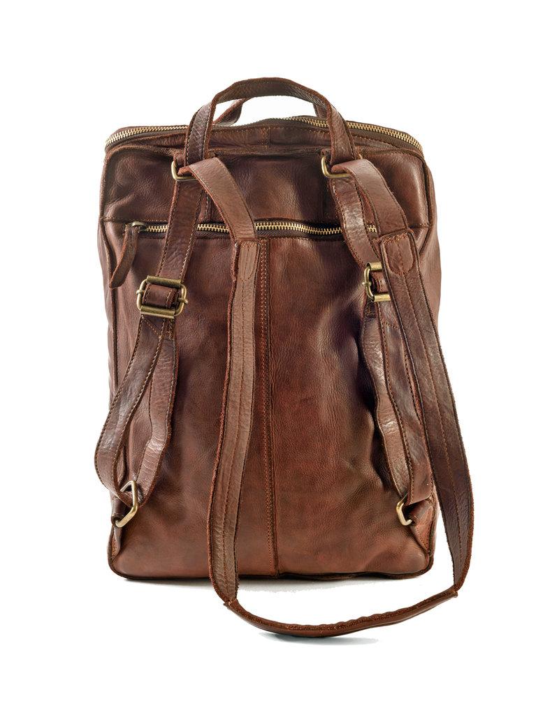 Harold's Leder Notebook Rucksack Large