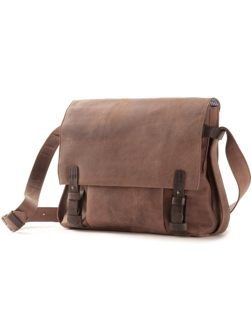 Harold's Leder Messengerbag Uberschlagtasche