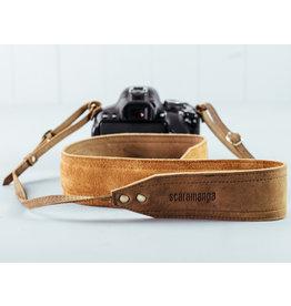 Scaramanga Leder Kameragurt