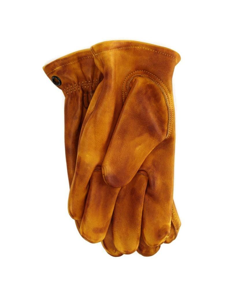 Crud Handgemaakte Leren Handschoenen