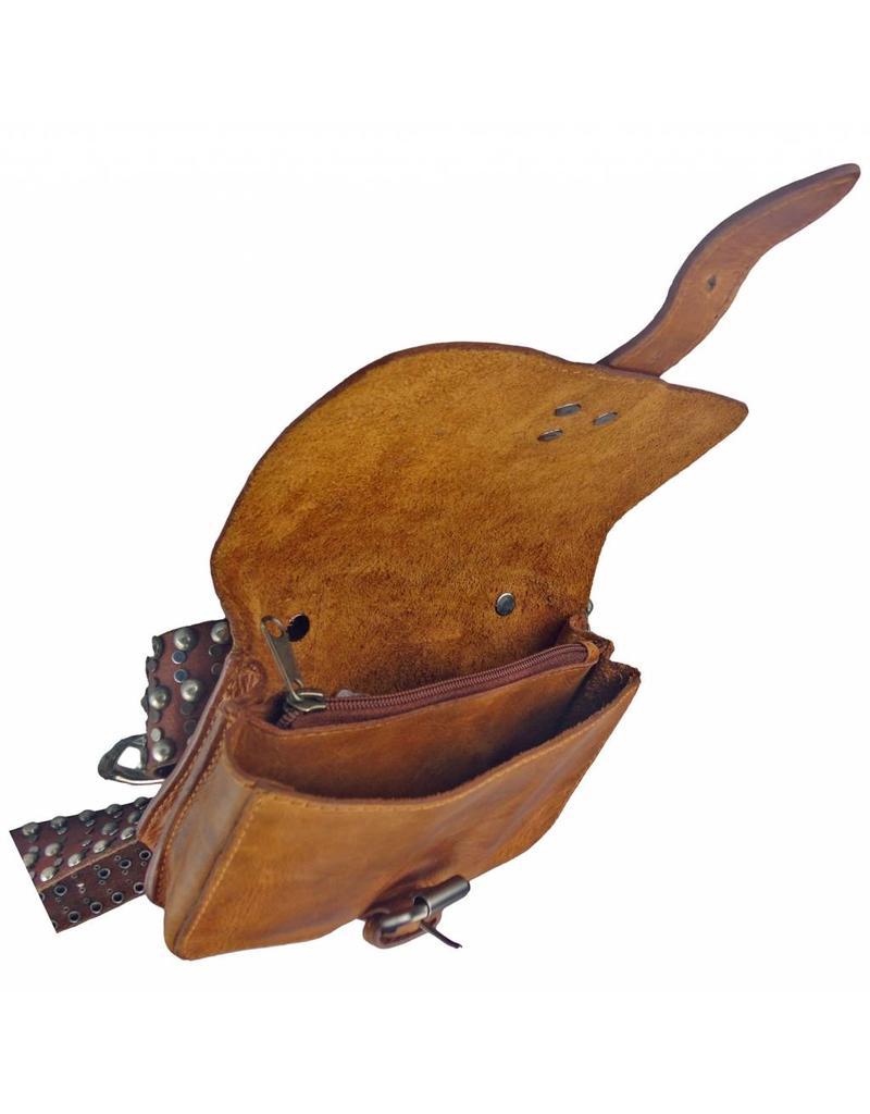 Weiches Leder Festival Tasche Gürteltasche Bauchtasche