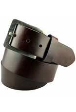 Braunen Leder Jeans Gürtel