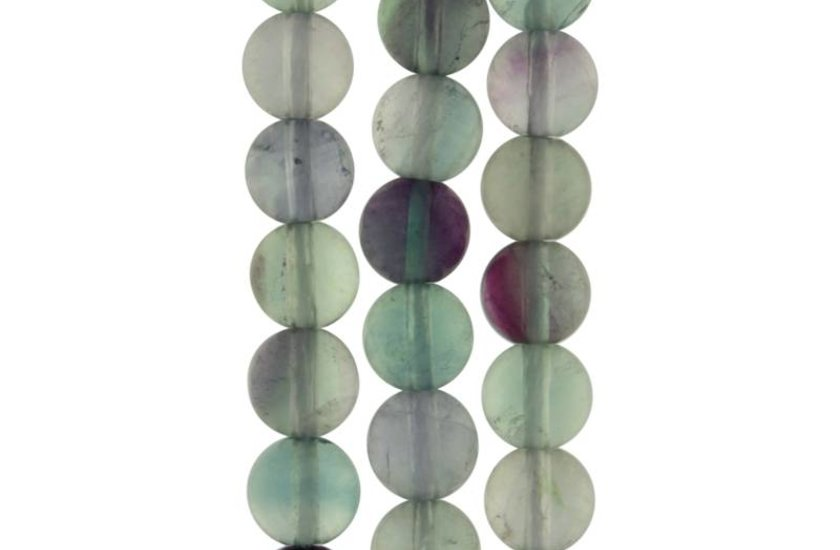 Fluorit (violett/grün)