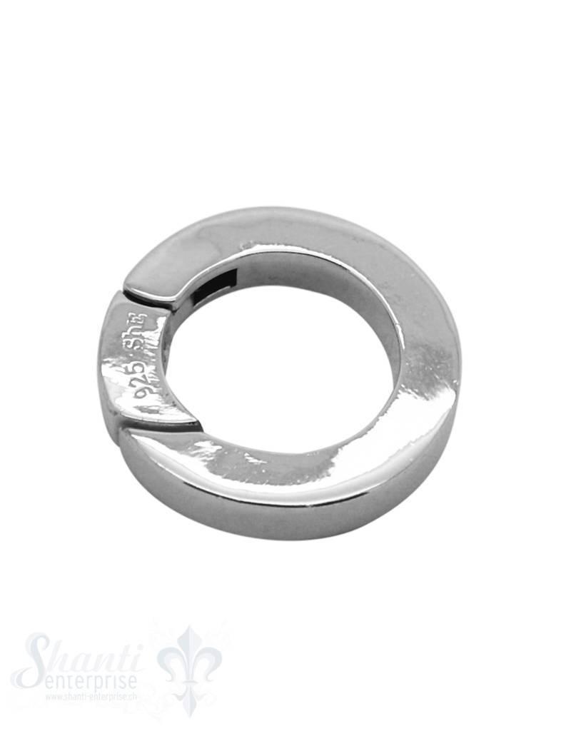 Klickschloss rund kantig D: 25 mm