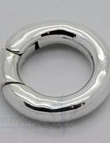 Klickschloss rund kantig D: 16 mm