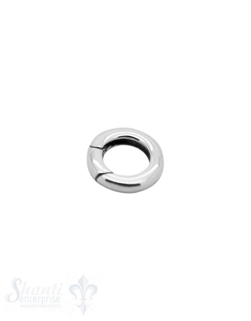 Klickschloss rund kantig D: 9,7 mm
