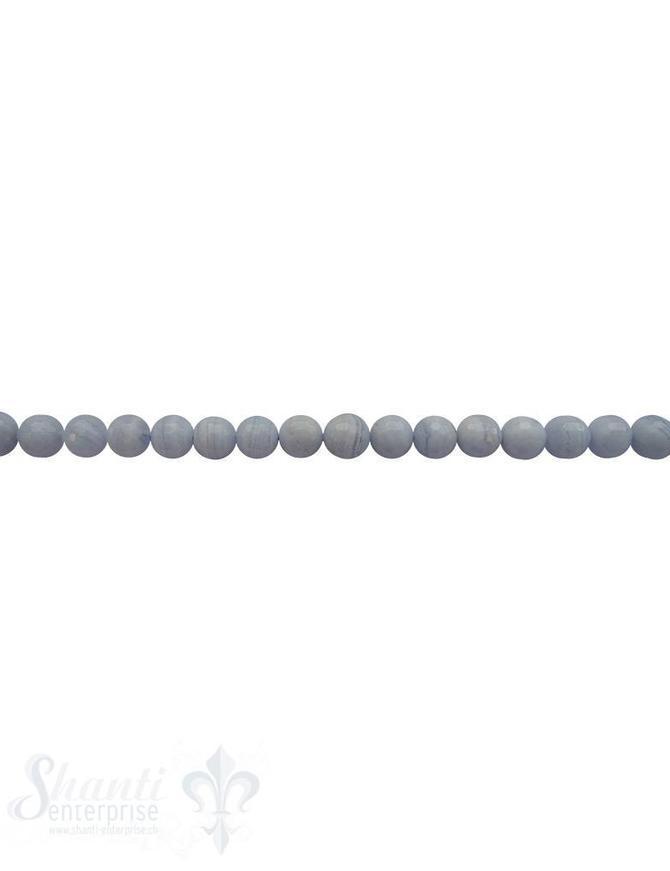 Chalcedonkette A Qualität 40-42 cm lang facettiert