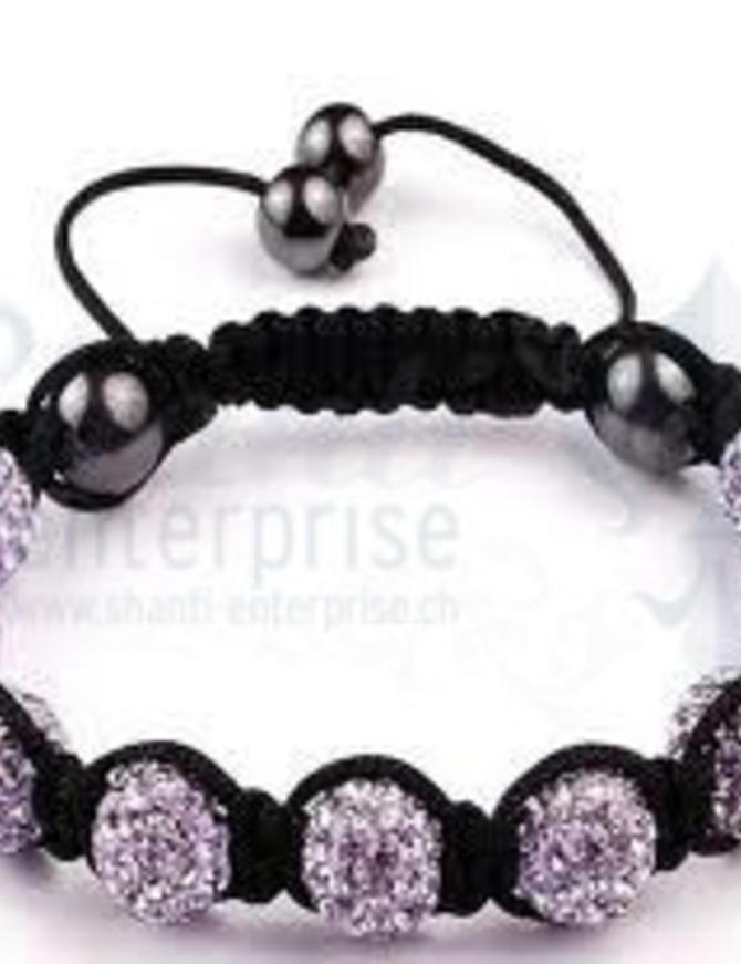 Moon Bracelet: violet 1 x Handgelenk