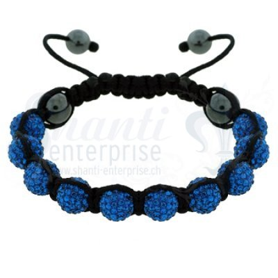 Moon Bracelet: blue 1 x Handgelenk