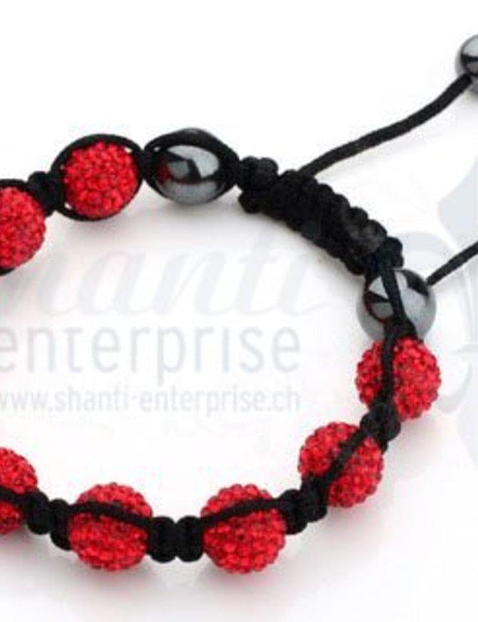 Moon Bracelet: red 1 x Handgelenk