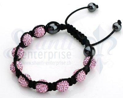 Moon Bracelet: pink 1 x Handgelenk