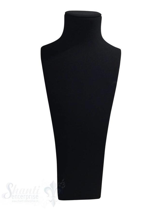 Display Samt schwarz matt: Büste